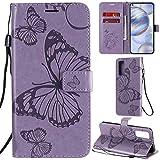 DodoBuy Oppo Find X2 Neo Case 3D Butterfly Pattern Premium
