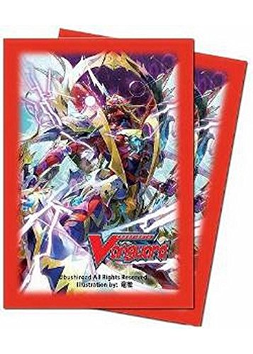 Cardfight!! Vangaurd 'Dragonic Kaiser Vermillion - THE BLOOD' Small Size Deck Protector Sleeves (55 count)