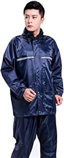BGROESTWB Snow Rainwear Reflective Waterproof Raincoat Is Suitable For Cycling, Hiking And Outdoor Sports Multifunction Ou...