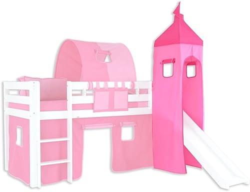 Turm Stoff-Set - Farbe Rosa Rosa