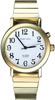 Physical Therapy Aids 081200591 Simply Talking - Reloj de pulsera con un botón para hombre