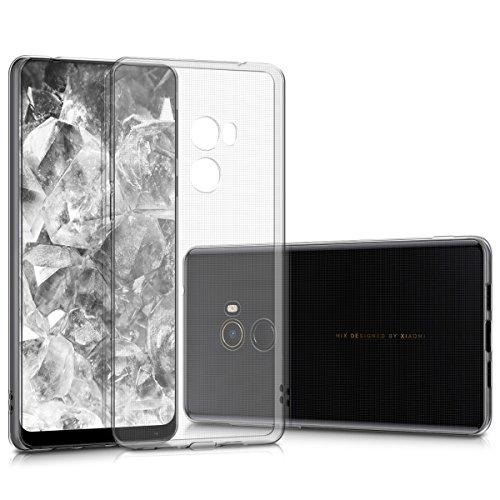 kwmobile Hülle kompatibel mit Xiaomi Mi Mix 2 - Silikon Handyhülle transparent - Handy Hülle in Transparent