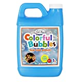 Lulu Home Bubble Concentrated Solution, 1 L/ 33.8 OZ Bubble Refill Solution Up to 2.5 Gallon for Kids Bubble Machine, Giant Bubble Wand, Bubble Gun Blower