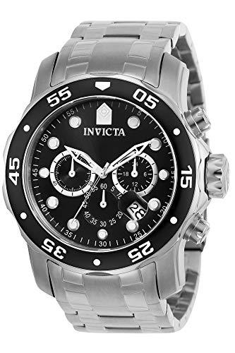 Invicta 0069 Pro Diver - Scuba Reloj para Hombre acero inoxidable Cuar