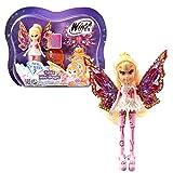 Winx Club Stella | Tynix Mini Magic Muñeca Hada con Transformación | 12 cm