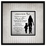Dexsa Prayer for My Mom Simple Expressions Wood Plaque with Easel