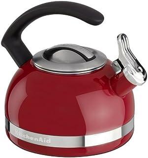 KitchenAid厨房帮手KTEN20CBER 2.0夸脱水壶 带C形手柄和镶边装饰 帝国红