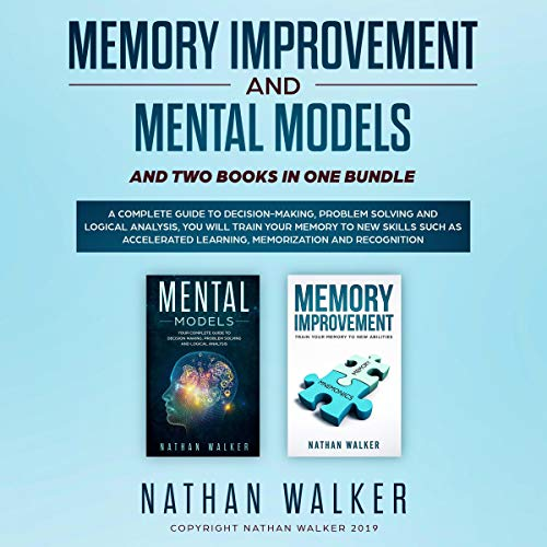 Couverture de Memory Improvement and Mental Models and Two Books in One bundle