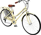 Columbia Bicycles Streamliner 700C Women's 7-Speed City Cruiser Bike, 17'/One Size