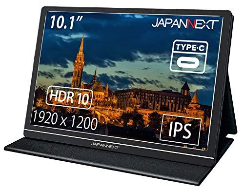JN-MD-IPS1010HDR [10.1型 モバイルディスプレイ HDR USB Type-C HDMI]