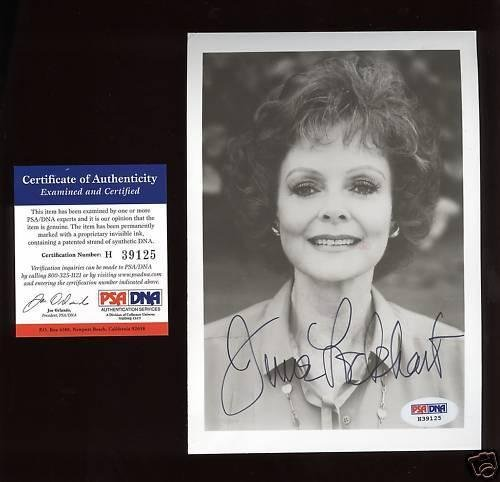 June Lockhart Autographed Photo PSA/DNA Certified