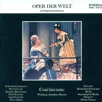 Wolfgang Amadeus Mozart: Cosi fan tutte (Highlights) [Suitner]