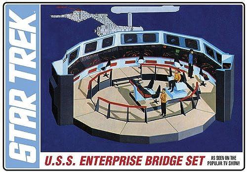 1 350 Star Trek Enterprise Bridge NEU    AMT808