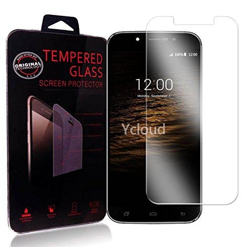Ycloud Panzerglas Folie Schutzfolie Bildschirmschutzfolie für UMI Rome / Rome X screen protector mit Festigkeitgrad 9H, 0,26mm Ultra-Dünn, Abger&ete Kanten
