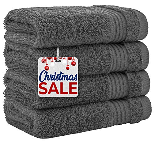 Luxury Turkish Cotton Washcloths for Easy Care, Extra Soft & Absorbent,...