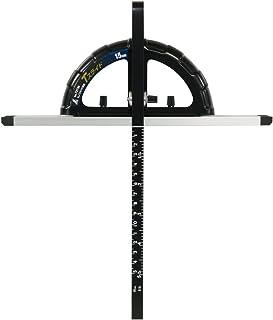 シンワ測定(Shinwa Sokutei) 丸ノコガイド定規 Tスライド 併用目盛 突き当て可動式 15cm 73736