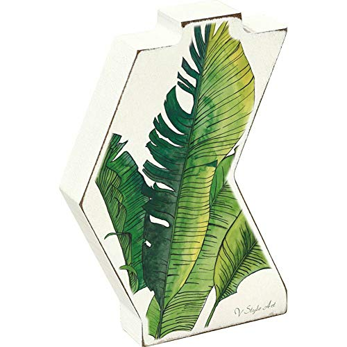 花瓶 ベース スタイル アート「ボタニカル(バナナ)」 ゆうパケット 絵画 インテリア 壁掛け アート 額縁 ギフト リビング おしゃれ