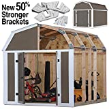 Best Greenhouse Kits - EZ Shed 70188 Barn Style Instant Framing Kit Review