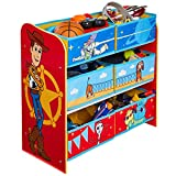 Toy Story 4 Kids Bedroom Toy Storage Unit with 6 Bins by HelloHome, 60cm (H) x...