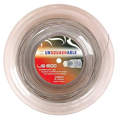 Unsquashable Cuerda Power US 600 Squash, Blanco ⭐