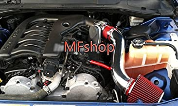 2005-2010 Chrysler 300 and 2005-2008 Dodge Magnum and 2008-2010 Challenger and 2006-2010 Charger with 3.5L V6 Engine Air Intake Filter Kit System (Red Filter & Accessories)