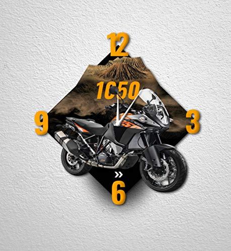 Motorrad-Wanduhr Dekoration für Haus, Büro, Hotel, Restaurant - Motorrad Adventure 1050 - MTO-092 (40 cm)