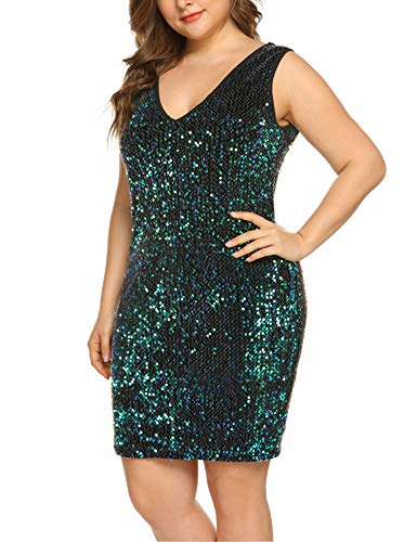 Sleeveless Sequin Party Dress