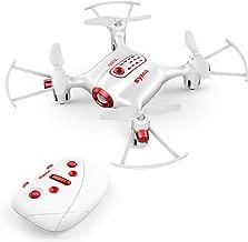 Mini Pocket Drone Headless Mode 2.4Ghz Nano LED RC Quadcopter Altitude Hold for Kids White