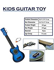 Wishkey Guitar Toys for Kids with Pick 21 inch (Blue)