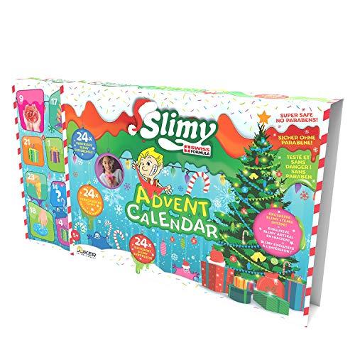 Slimy Original Adventskalender mit 24 tollen, schleimigen Überraschungen für Jede Menge Spielspaß!