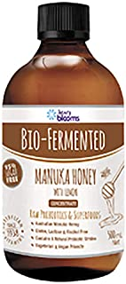 Henry Blooms Bio-Fermented Probiotic Manuka Honey and Lemon Concentrate, 500ml