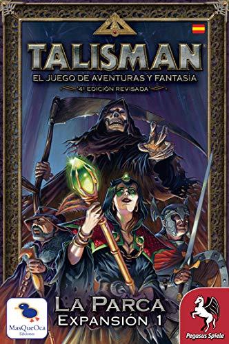 Talisman la Parca Español MasQueOca Ediciones