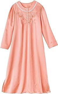 satin long nightgown