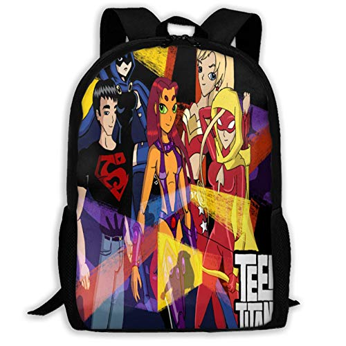 Hdadwy Te-en Ti-ta_ns Go Mochila de ocio para adultos, mochila impermeable para uso diario, mochila para portátil, mochila escolar, bolsa multifunción de viaje para senderismo, para niño y niña adulta