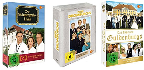Die Schwarzwaldklinik Box + Diese Drombuschs Box + Das Erbe der Guldenburgs Box / Komplettbox DVD Set