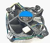 Core i3/i5/i7 Socket 1150/1155/1156 Ventilateur de processeur avec dissipateur thermique en aluminium et ventilateur de 8,9 cm pour ordinateur de bureau