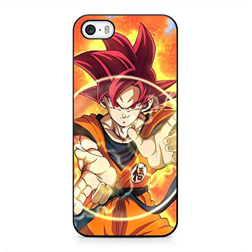 N/A Cover iPhone 5 / iPhone 5s / iPhone SE Case Dragon Ball Black Silicone Soft Case A-042