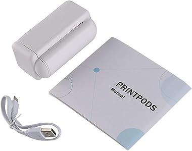 Handheld Printer, Portable Inkjet Printer, Compact Mini Printer, Durable Quick-Drying Home Office Barcode Text DIY Printer