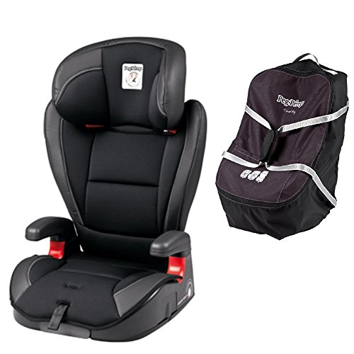 Big Save! Peg Perego Viaggio HBB 120 w Peg Perego Car Seat Travel Bag (Licorice)