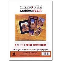 クリアファイルArchival Plus 81/ 2x 11印刷プロテクター25ct