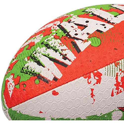 Optimum Palla da Rugby con bandiera nazionale, Galles, 4