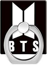 Teblacker BTS Phone Ring Holder, Kpop Bangtan Boys Cell Phone Finger Ring Stand with 360°Rotation Hand Grip for Phones and Tablets( Style 01)