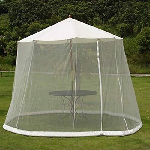 FGVDJ Sombrilla de jardín al Aire Libre Su sombrilla en una glorieta Sombrilla de jardín al Aire Libre Pantalla de Mesa Sombrilla Cubierta de mosquitera
