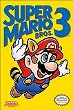 Póster Super Mario Bros. 3 - NES Cover - cartel económico, póster XXL