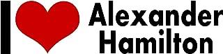 Alexander Hamilton I Love My STICKER Heart DECAL VINYL BUMPER DECOR CAR Graphic Wall