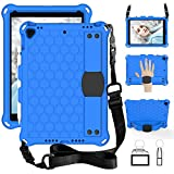 Shockproof Case for iPad 7th Generation 10.2'' 2019,Locase iPad 10.2 Case with Pencil