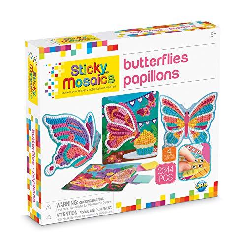 MGM- Orb Mosaïques au numéro Papillons, 51006