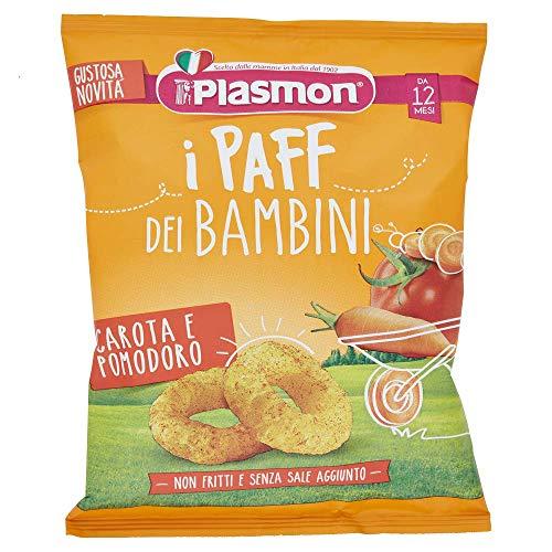 Plasmon Paff, Carota e Pomodoro, 5 x 15 g