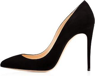 Zapatos de Tacón para Mujer,Zapatos de Tacón con Punta Cerrada para Mujer