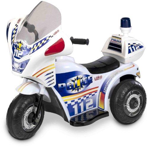 Loko 99306L-P - Elektrofahrzeug Tribike - Polizei